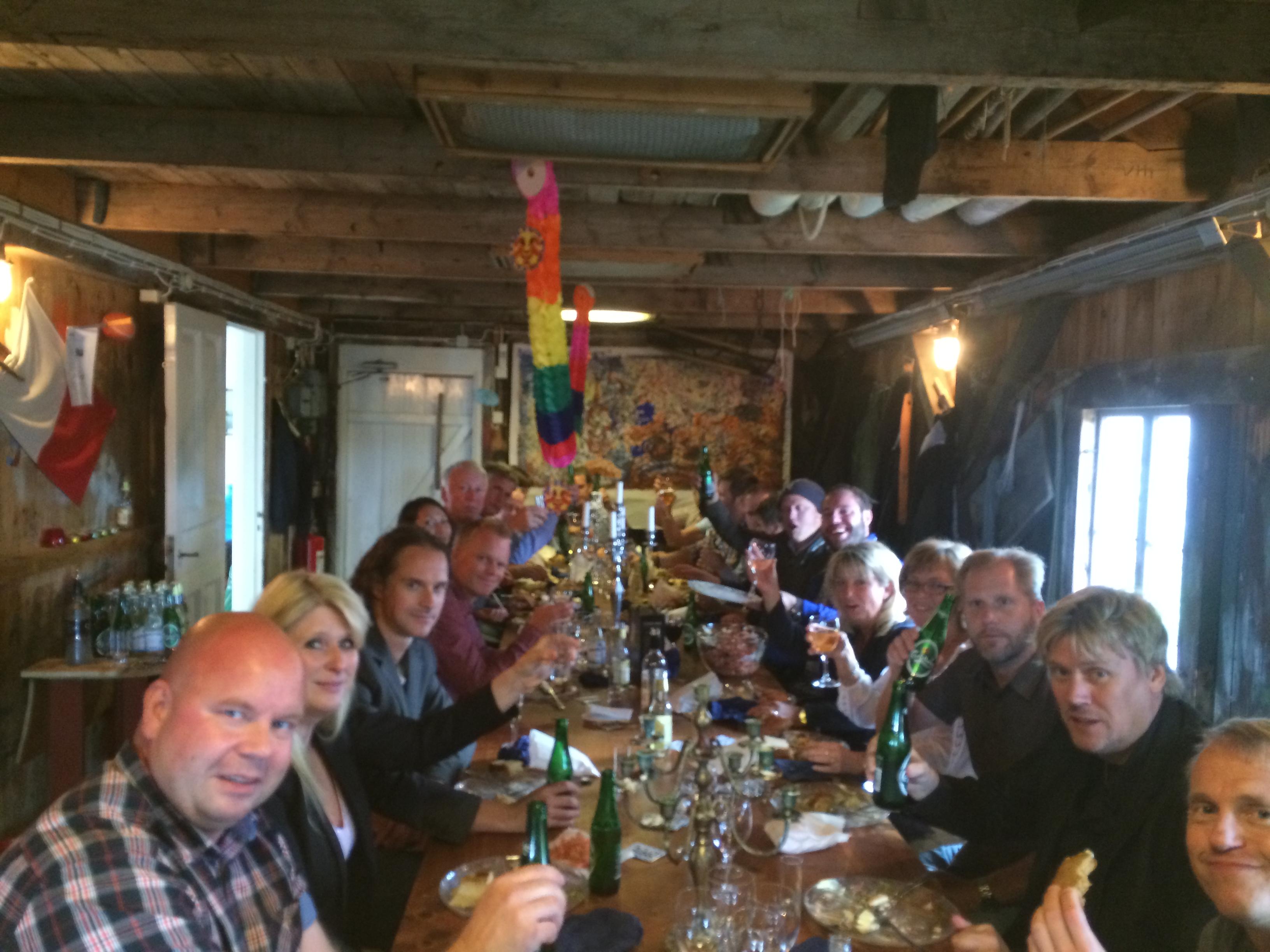 Skaldjurs Catering på Vinga Prickskjulet