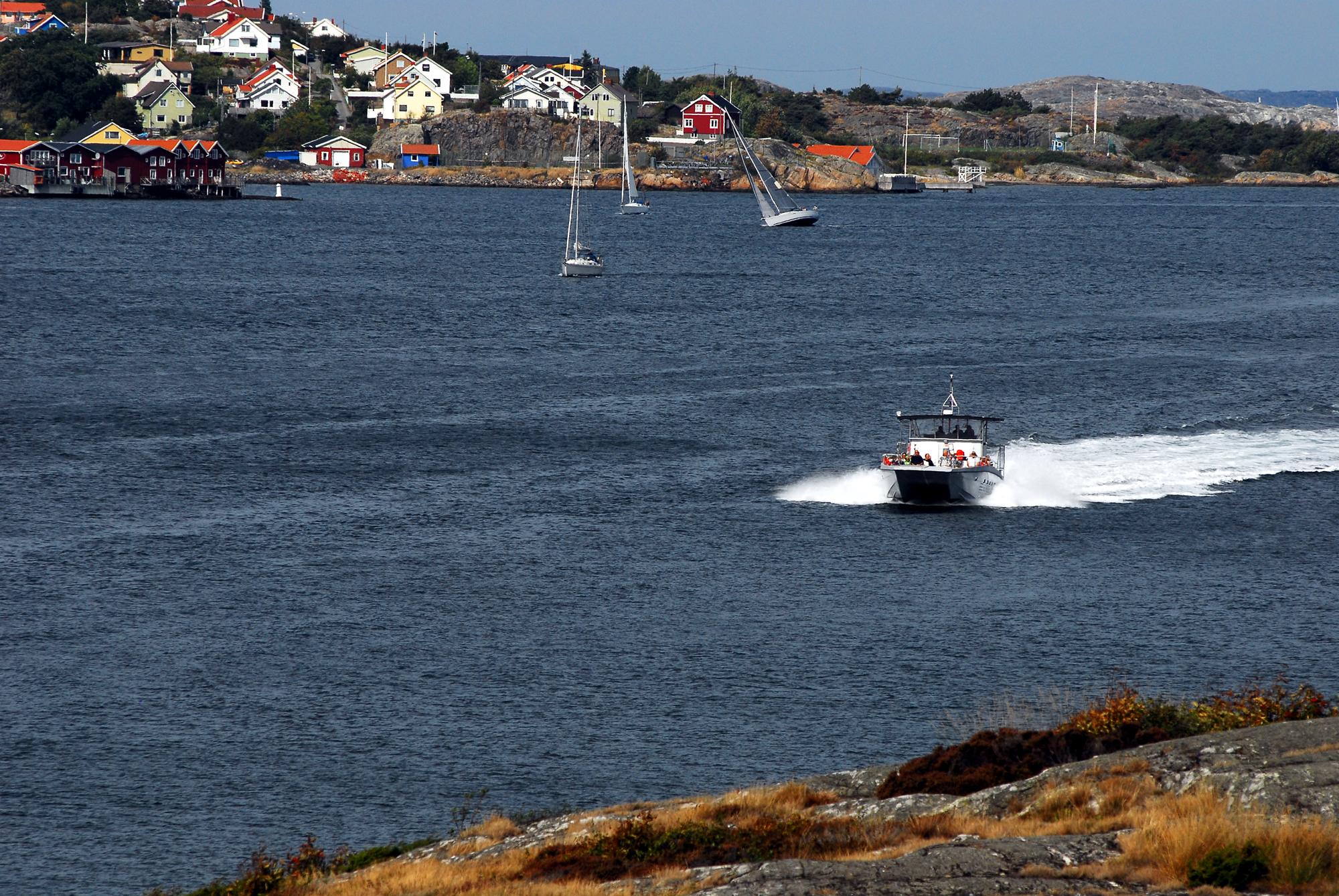 Båtäventyr till Vinga & Seaside Björkö