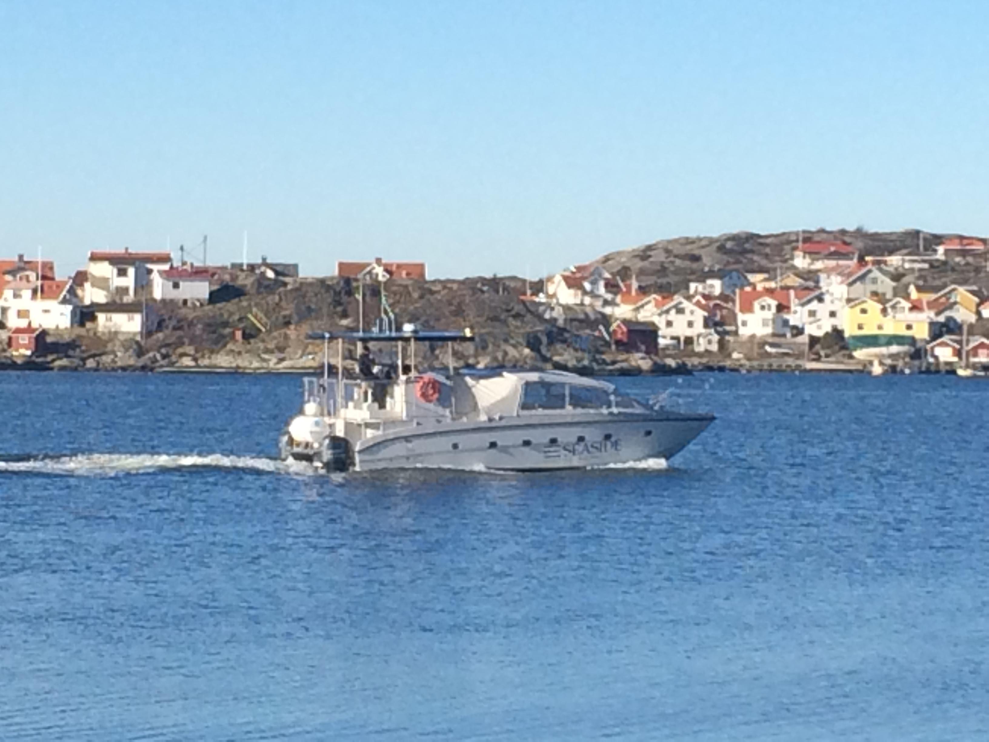 En härlig dag för en båttur